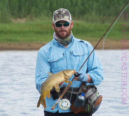 Carp fly fishing #flyfishing for carp
