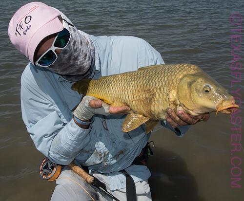 #flyfishing for carp fly fishing
