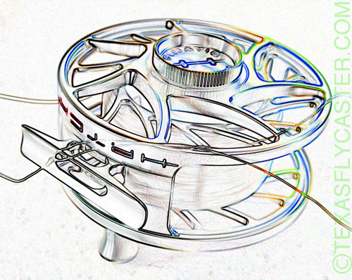 hatch fly fishing reel