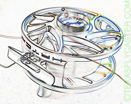hatch fly fishing reel