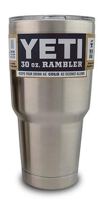 Yeti rambler for prize drawing starts October