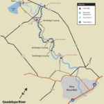 texas guadalupe river map fly fishing for rainbow trout