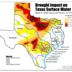 Current Texas Drought Map