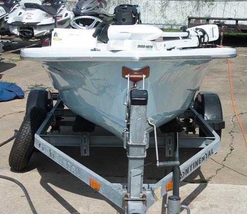KRG Technical Poling Skiff