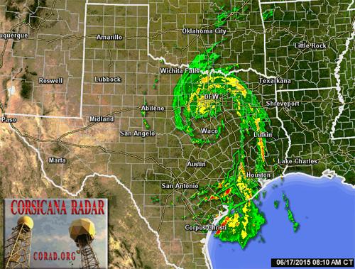tropical storm bill radar