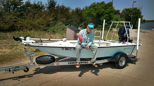 Lagoon Skiff Texas poling skiff