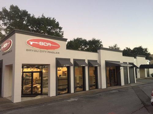 Bayou City Angler Store Front