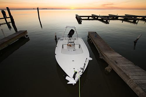 Lagoon Boats South Padre Island Texas technical poling skiff jims pier