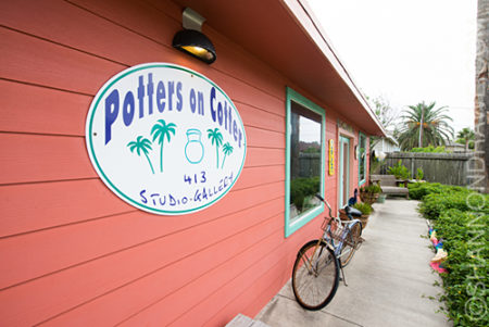 Potters on Cotter Port Aransas Art