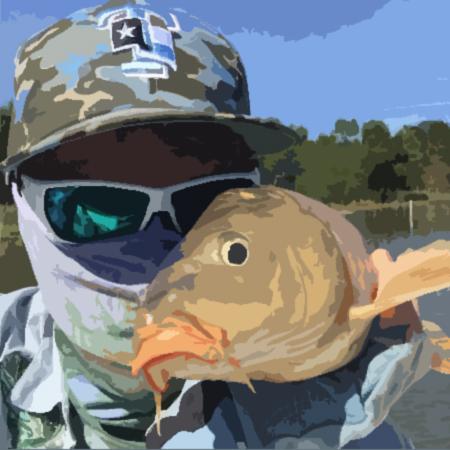 texasflyfishing carp on fly ray roberts