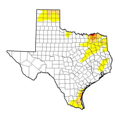 Texas Drought Map 0117