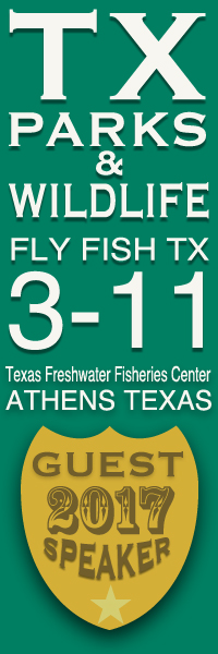 Texas Fly Fishing's Monday Morning Sidewalk Rolls Out