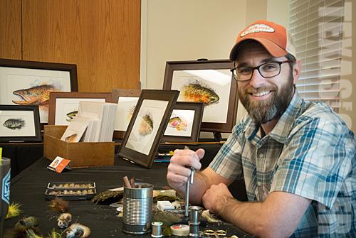 Nathan Brown Watercolor Artist East Texas Fish