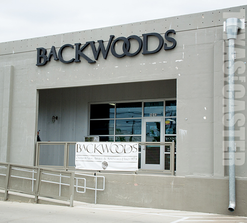 Backwoods Fort Worth New Location