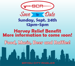 Bayou City Angler Harvey Relief Benefit Event