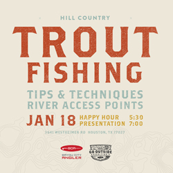 Houston Bayou City Angler Trout Tips