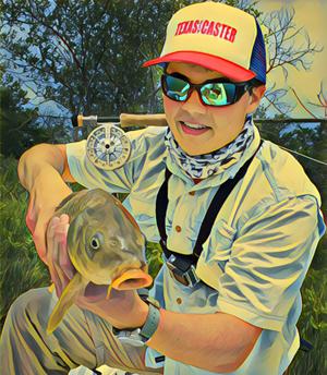 Carp Guide Lake Ray Roberts Texas