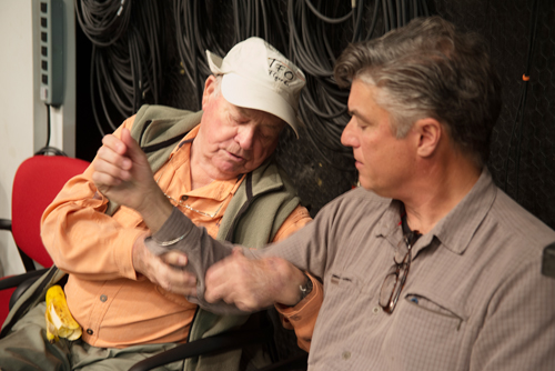 Lefty Kreh on Set The Complete Cast