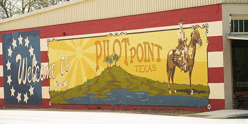 Pilot Point Texas Downtown