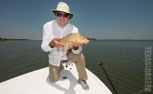 Lake Ray Roberts Carp on Fly