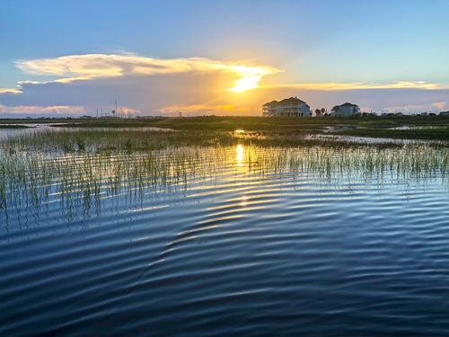 Galveston Bay fly fishing 2018