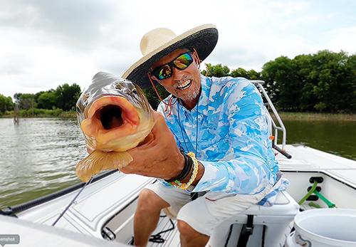 Ray Roberts Carp fly fishing